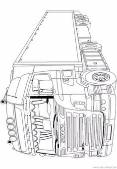 Monster Truck Coloring Pages, Cars Coloring Pages, Coloring Pages For Kids, Adult Coloring, Coloring Books, Lego Coloring, Chevy Tattoo, Truck Tattoo, Bus Art