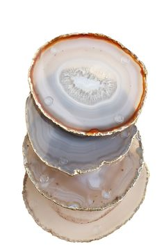 Agate Slab Coasters
