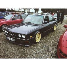 stay low, keep digging. — 9e2: James's #E28! #BMW #ptc2014!