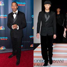 """Male Fashion Trends: Nick Cannon en Giorgio Armani - """"America's Got Talent"""" Season 8 Red Carpet Event"""