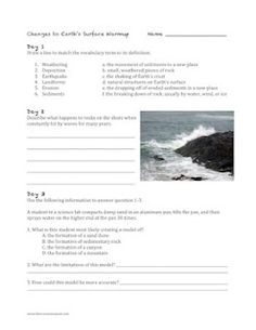 Unit to help review weathering and erosion.  An entire plan to help you plan!