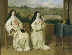 Philippe de Champaigne, Mère Agnès et Mère Angélique Arnauld