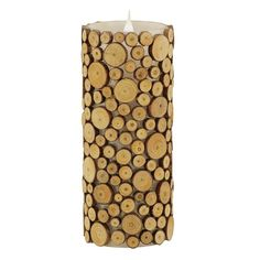 With the innovative technology of the Pacific Accents Solare Wood Flameless Candle , a wooden candle is a delicious accent to any space. This flameless. Woodland House, Pillar Candles, Trypophobia, Products, Gadget, Candles