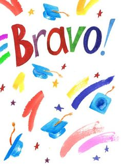 Funny Graduation Card Graduation cap diploma bravo illustration watercolor card congratulations congrats color, Grad, I'm so happy for you! Congratulations Quotes, Congratulations Graduate, Work Anniversary Quotes, Inspirational Quotes About Success, Achievement Quotes, Card Sayings, Mason Jar Gifts, Love My Kids, Graduation Cards