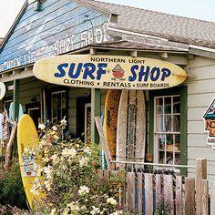 Northern Light Surf Shop - Bodega, CA - Sunset
