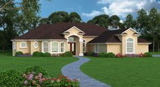 Orchid Island House Plan - 4944