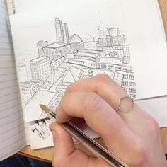 A calm mindful way to start the morning with a cup of tea and a relaxing doodle of the #Manchester skyline. Stepping away from the digital world and having a doodle with old fashioned pen and paper can be a great way to unwind and destress no matter what you draw or how good you think it is, just have a go! ... #manchesterskyline #skyline #manchesterart #mentalhealth #wellbeing #manchester #mcr #mancmade #ancoats #horsfall #thehorsfall #42ndstreetmcr #usefulandbeautiful #artwork #doodle… Manchester Art, 42nd Street, Destress, You Draw, Pen And Paper, Tea Cups, Things To Think About, Doodles, Skyline