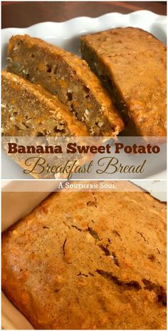 Banana, sweet potato and coconut make this bread an extra special way to start your day!