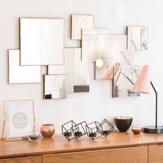 Miroir en métal 53 x 94 cm LEXIE