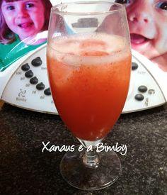 Xanaus e a Bimby: Limonada de Morango na Bimby