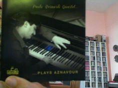 """Il cd del quartetto jazz di Paolo Bernardi che esegue 12 pezzi di Charles Aznavour. Il cd si intitola """" Paolo Bernardi Quartet...plays Aznavour"""" Presto anche su #StereoBus con me e Andrea Cimmino #Jazz #Francia #Charles_Aznavour"""