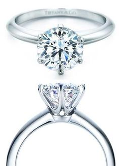 Superb Tiffany Setting Diamond Ring Wow this design is amazing Please check out my jewelry