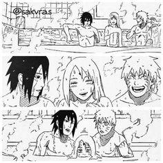 Aye Sasuke and Naruto lol poor Sakura. Naruto Uzumaki, Naruto Anime, Hinata, Naruto Comic, Naruto Cute, Naruto Funny, Naruto Team 7, Sasusaku Doujinshi, Narusaku
