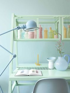Pastel! @vtwonen styling @Marianne Glass luning and photography @Anna Totten de leeuw