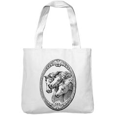 Mintage Horse Shield Museum Tote Bag