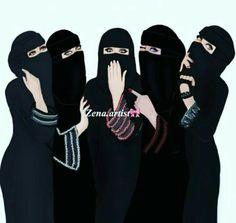 🖤🖤🖤 wear black and be gold Arab Girls, Muslim Girls, Muslim Women, Best Friend Drawings, Girly Drawings, Hijabi Girl, Girl Hijab, Girly M, Girly Girl