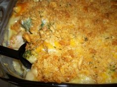 Cheezy Chicken, Broccoli, Rice Casserole
