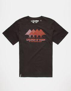 LRG Children Of Vision Mens T-Shirt 259858100 | Graphic Tees