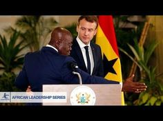 Ghanaian President Embarrass French President With Shocking Speech - YouTube