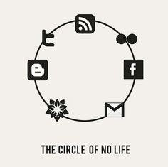 blogger, facebook, gmail, icq, rss, social
