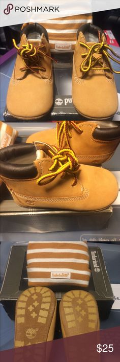 c102ab27dbe Baby Timberlands EUC These Baby timberlands are like new, never walked on.  They would