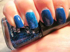 Html, Nail Polish, Nails, Spot Lights, Blue, Finger Nails, Ongles, Nail Polishes, Polish