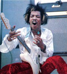 Jimi Hendrix, 1968.