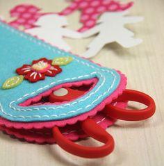 Sewing Staples: Scissor keeper } Papertrey Ink