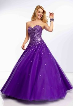 blue green purple ball gown dress - Google Search