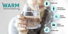 Drinking warm water has many benefits like weight loss, proper digestion, improve bowel movement and maintain proper skin health. Read the blog to know the other benefits of drinking warm water. Water Benefits, Health Benefits, Water Before Bed, Drinking Hot Water, Muscle And Nerve, Nasal Congestion, Kidney Disease