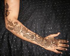 Mehndi Lace Tattoo : Stylish colorful mehndi designs for girls mandala