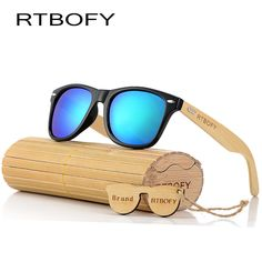 7dd00b6ada RTBOFY 2017 Retro Bamboo Wood Sunglasses Men Women Brand Designer Goggles  Gold Mirror UV400 Eyewear Price