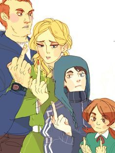 Tucker family anime south park