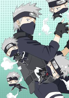 The Demon King : Photo Kawaii Kakashi *-* Naruto Shippuden, Naruto Kakashi, Naruto Cute, Kakashi Hatake Hokage, Naruto Boys, Shikamaru, Fotos Do Anime Naruto, Anime Guys, Manga Anime