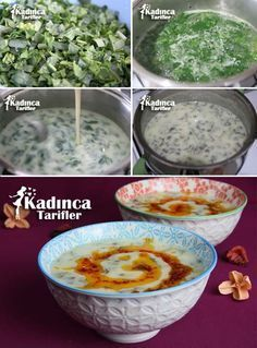 """The post """"Spinach Soup Recipe with Yogurt"""" appeared first on Pink Unicorn Kreatives Yogurt Recipes, Soup Recipes, Healthy Recipes, Vegetarian Recipes, How To Make Spinach, Smoked Pulled Pork, Spinach Soup, Shellfish Recipes, Tasty"""