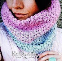 Lovely crochet jasmine stitch cowl! Tina's handicraft : scarves