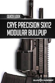 Gun Review: Crye Precision Six12 Modular Bullpup AK 47 | Firearm Ideas by Gun Carrier at http://guncarrier.com/gun-review-crye-precision-six12-modular-bullpup-ak-47/