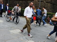 This is why Pitti Uomo is the epicenter of street style - www.luisaworld.com