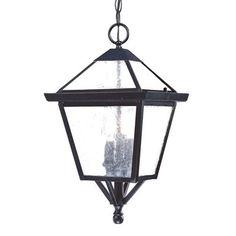 Charleston 3 Light Outdoor Pendant, $107.80