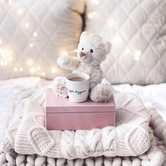 Cozy coffee in bed Deco Rose, Portrait Pictures, Everything Pink, Winter Photography, Pink Aesthetic, Cozy Aesthetic, Lightroom Presets, Warm And Cozy, Girly Things