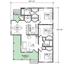 First Floor of Plan ID: 57967 | House Floor Plans | Pinterest ... on traditional home floor plans, beautiful home floor plans, signature homes floor plans, carriage house floor plans, 2012 most popular home plans, small house floor plans, interior design floor plans, sater design collection house plans, country kitchen house floor plans, new florida home floor plans, caribbean house designs and floor plans, santa barbara style home floor plans, utah home floor plans, contemporary open floor house plans, sater design mediterranean floor plans, screen porch designs and plans, kitchen design floor plans, british floor plans, awesome one story house plans, greek revival plantation home house plans,