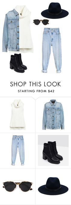 """Untitled #15"" by molly-mahaffey on Polyvore featuring White House Black Market, Current/Elliott, Levi's, Zara, Christian Dior, rag & bone, women's clothing, women, female and woman"