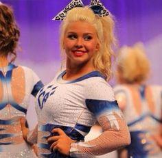 The 2013 Cheerleading Worlds Cheer Athletics Cheetahs Cheerleading Hair