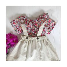 Girls floral blouse top Baby floral outfit Toddler top Baby 0147a9577f67