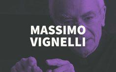 Massimo Vignelli – Biography of the Famous Graphic Designer Graphic Design Books, Graphic Design Inspiration, Book Design, Branding Agency, Logo Branding, Branding Design, Logos, Massimo Vignelli, Clever Logo