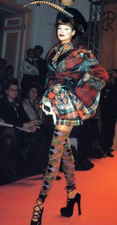 February 23rd - Kilts, Tartan and Steampunk theme www.club-rub.com/ @Lady_Ada_King You likey? ...tartan and rope, what inspires Dame Vivien Westwood?