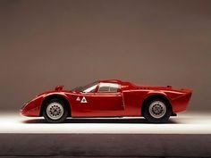 "Alfa Romeo Tipo 33/2 ""Daytona"" '1968–69 #alfa #alfaromeo #italiandesign"