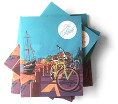 The Ride – Über cool independent cycling mag