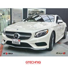 #Mercedes Benz S500 4Matic.  Protected by #gtechniq Stockist Gtech🌐 PROTECT THE THINGS YOU LOVE .إحمى كل ما تحب