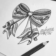 aufewig tattoo Lace Schleife bow Favorit❤